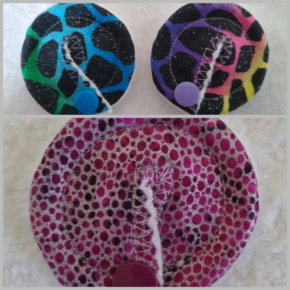 Image of Glitter Sparkle Metallic Funky Style Tubie Pads