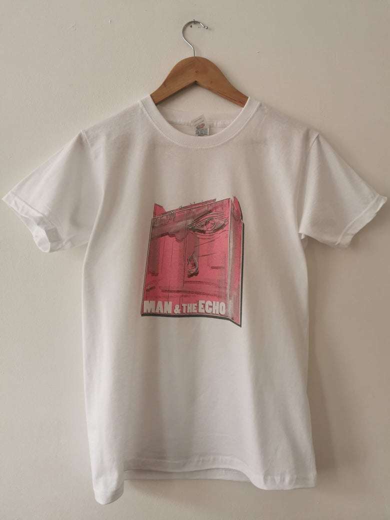 Image of The 'Pink Eye' Unisex T-Shirt (White)