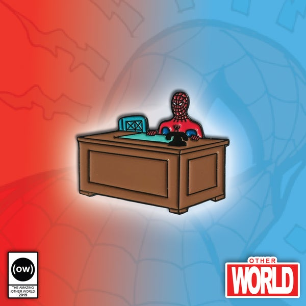 Image of Spider Desk pin