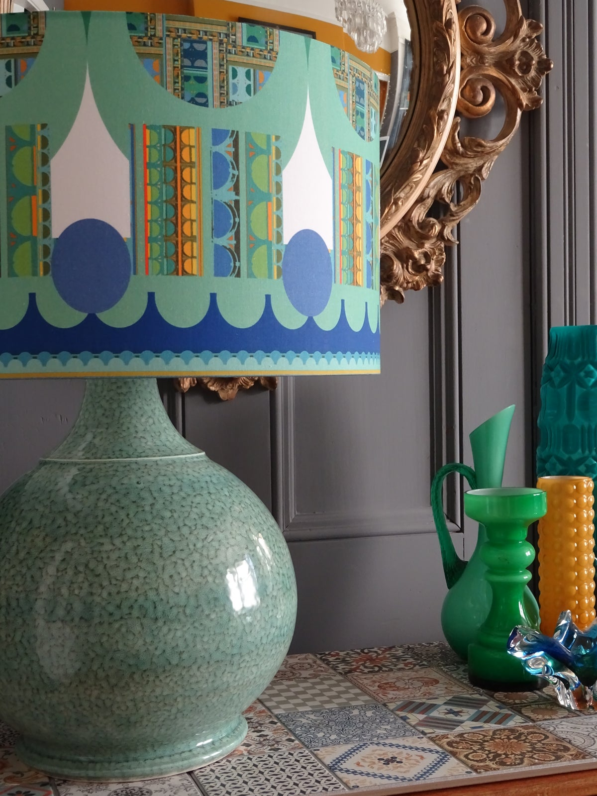 Image of Panton Blue Collection