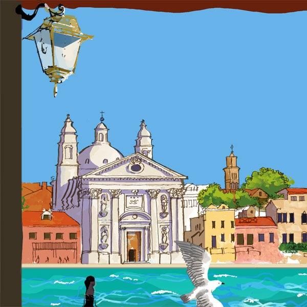 Image of Venice from La Giudecca