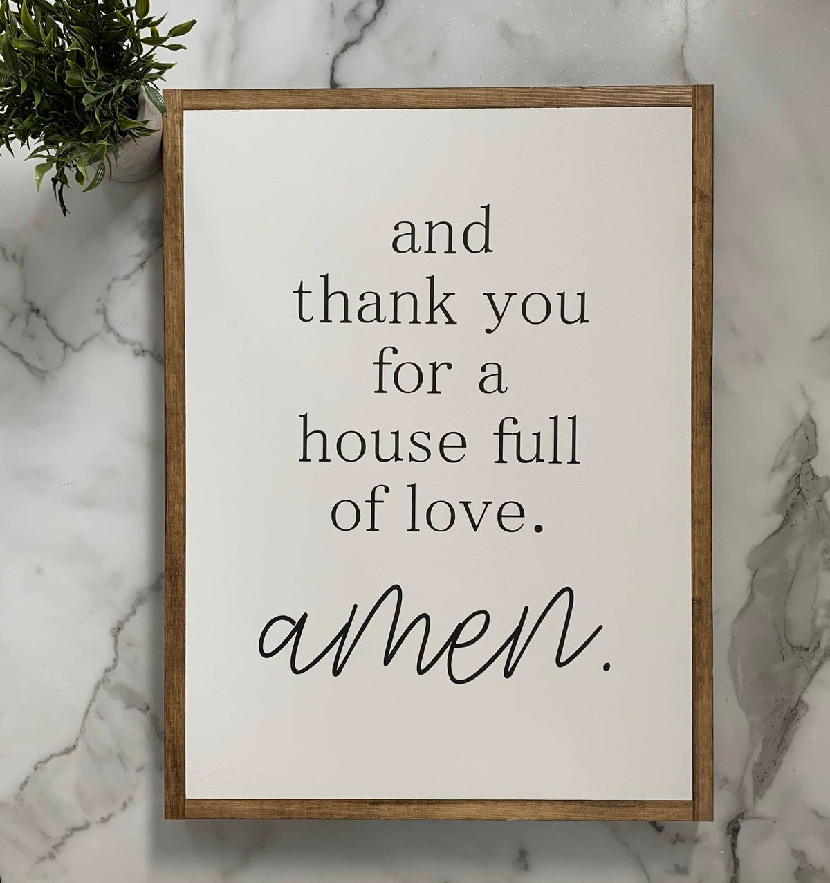 Image of Thank You For A House Full Of Love