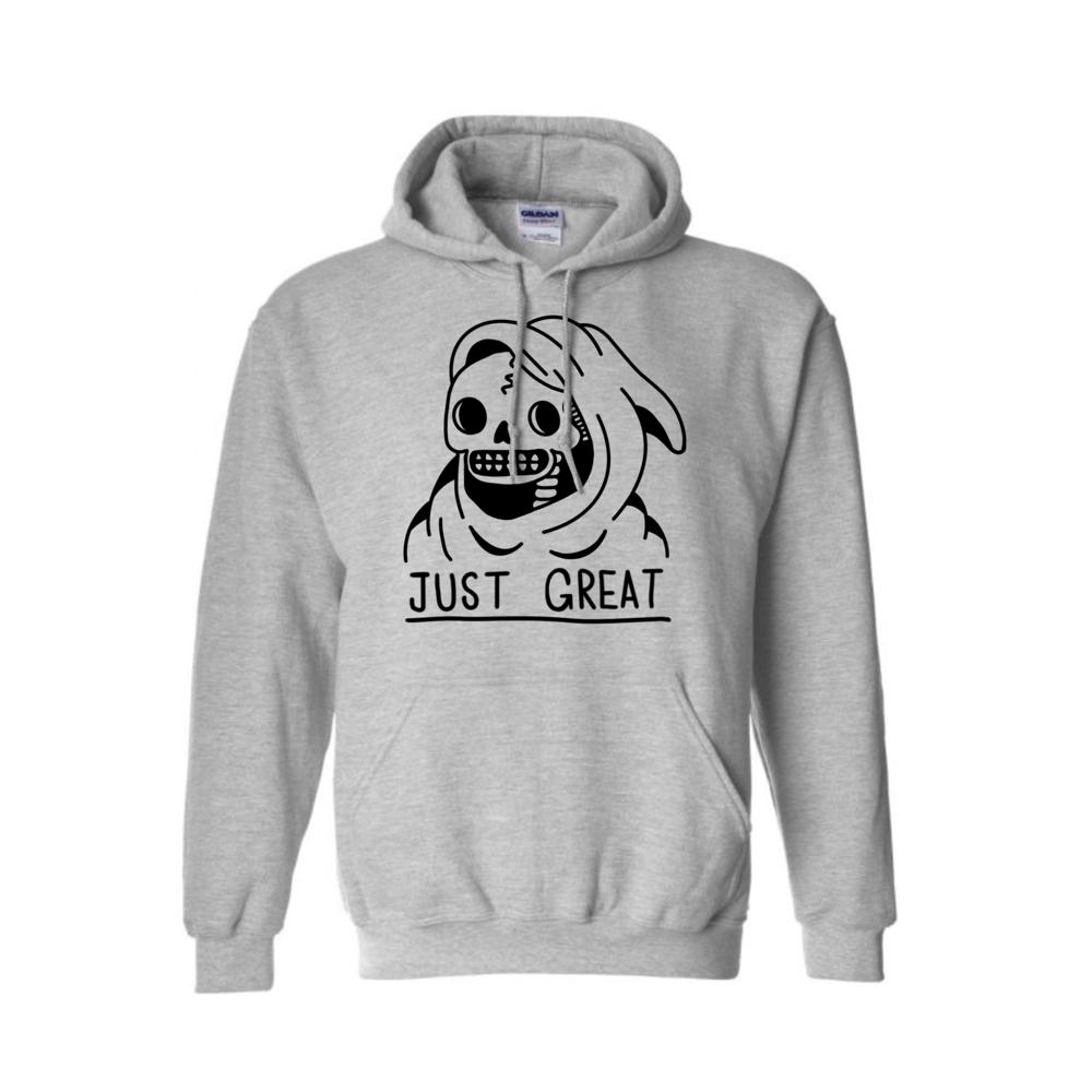 Image of Just Great hoodie (sport grey)