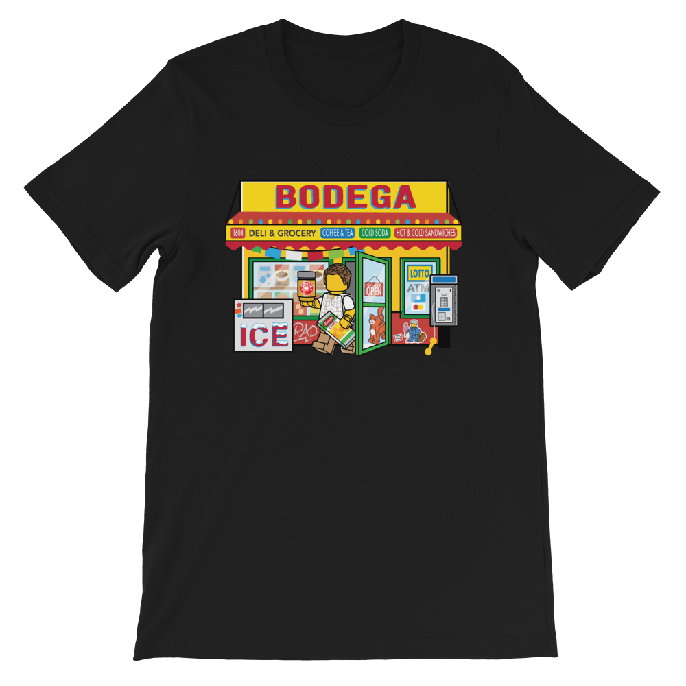 Image of Bodega Black Unisex T-Shirt