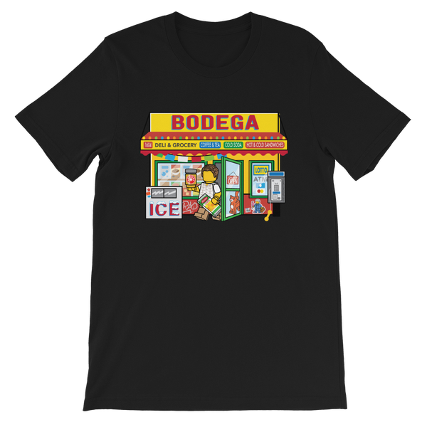 Image of Bodega Black Unisex T-Shirt