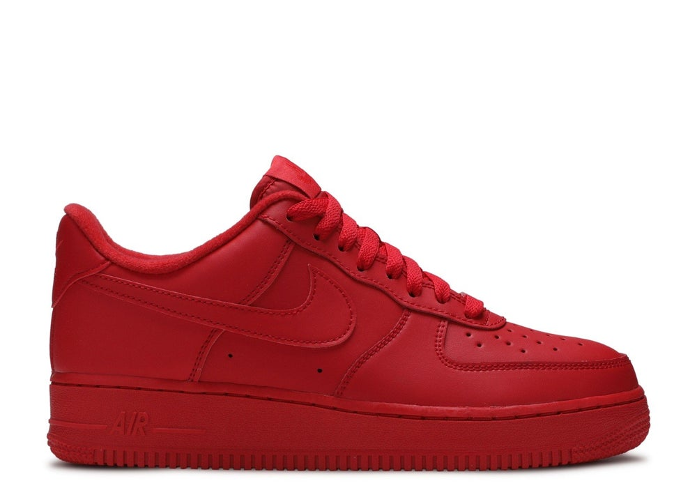 "Image of Nike Air Force 1 Low ""Triple Red"""