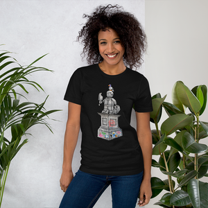 Image of Forever Young Monument Black Unisex T-Shirt