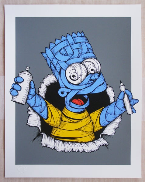 Image of Otto Schade - Blue Ribboned Bart