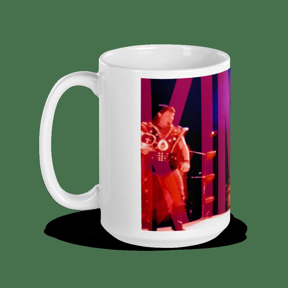 Image of Coffee Kings (15 oz) Ric Flair vs Jerry Lawler, Bash '85 Mug