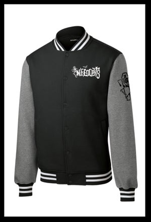 Image of The Independents Letterman Jacket B&W