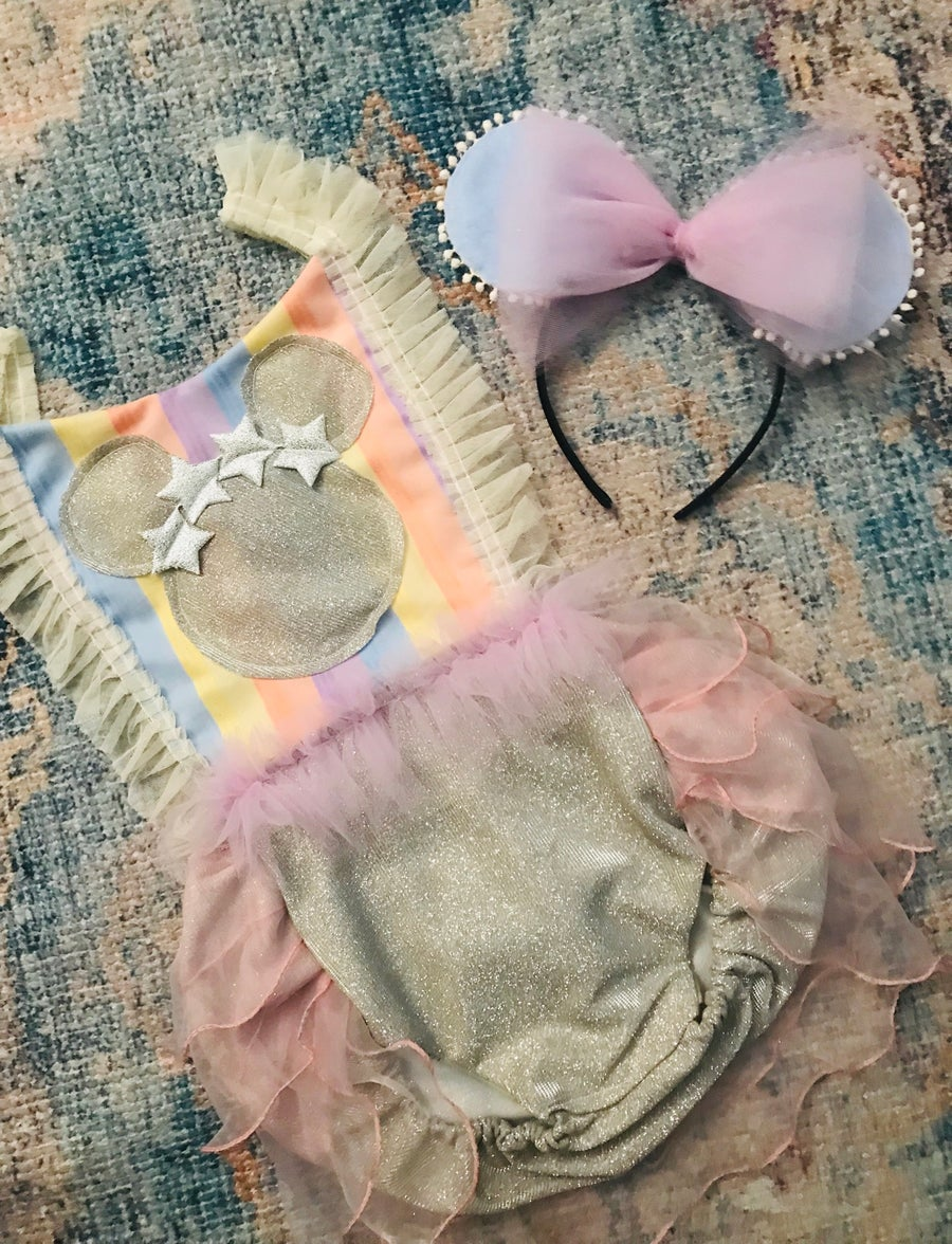 Image of Boho Pastel Minnie Mouse