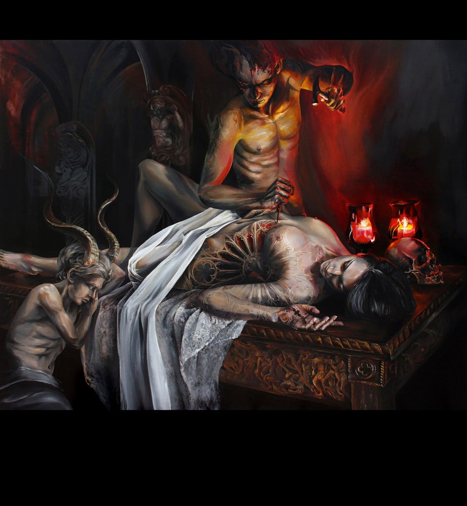 Image of 'Hephaestus- Creation of the Seraph' Limited Print