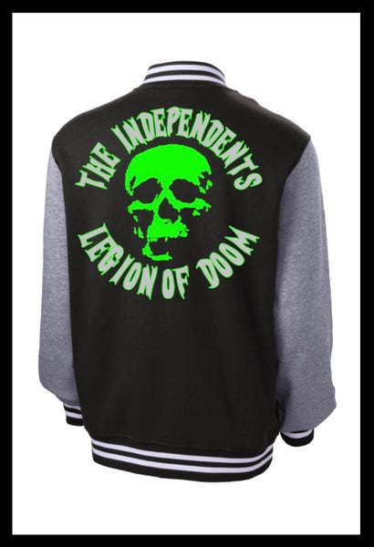 Image of The Independents Letterman Jacket Green