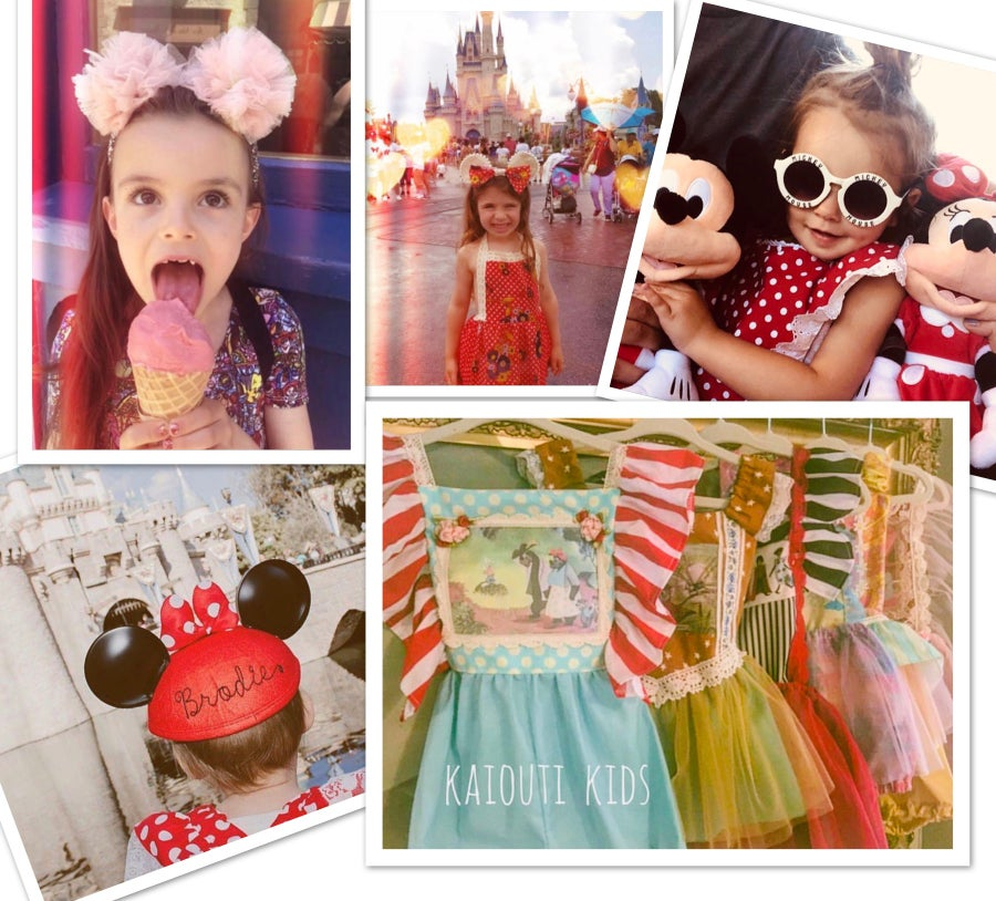 Image of Custom Boho Disney & Birthday Outfit