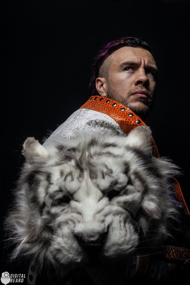 Image of Snow Tiger - Will Ospreay Signed 8x10's