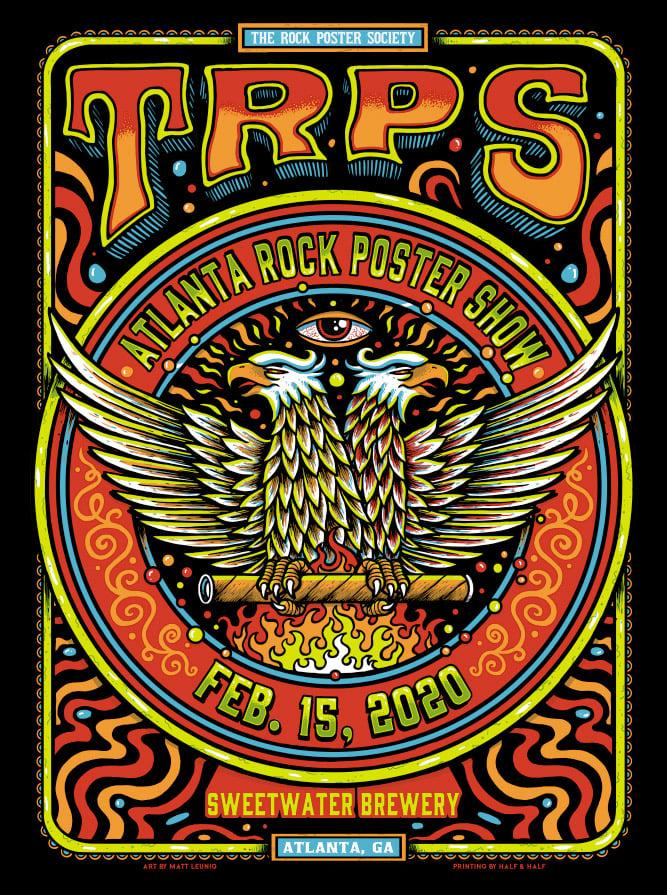 Atlanta Rock Poster Show @ Atlanta, GA - 2020