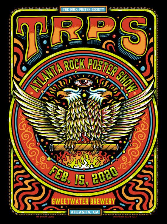 Image of Atlanta Rock Poster Show @ Atlanta, GA - 2020