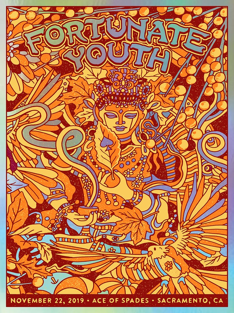 Image of Fortunate Youth Rainbow Foil 2019
