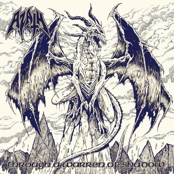 "Image of AZATH ""Through A Warren Of Shadow"" CD"