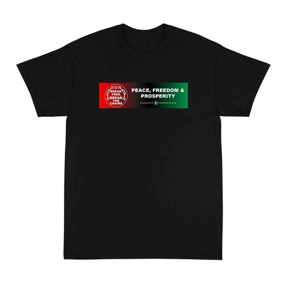 Image of Break Free Black Tee