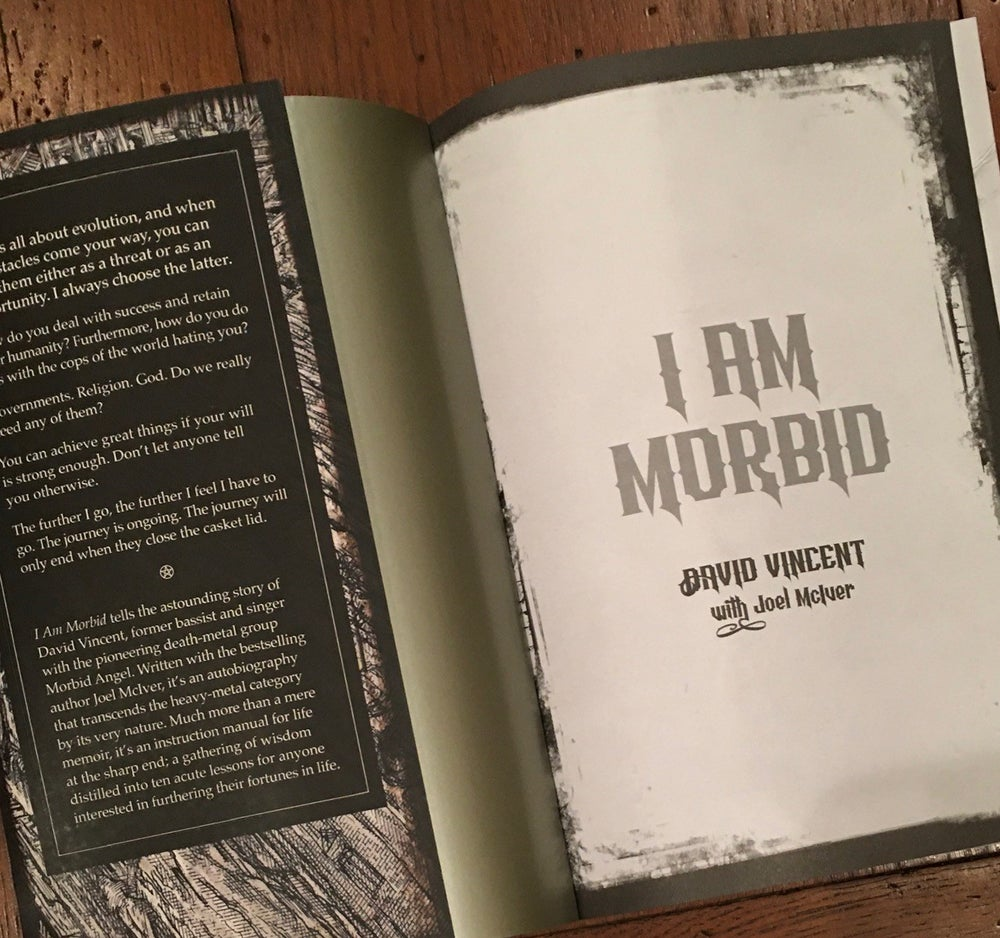 Image of I AM MORBID Autobiography (SIGNED!)