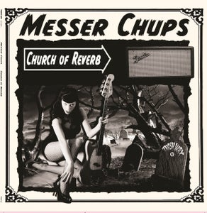 Image of LP. Messer Chups : Church Of Reverb.  Ltd Edtion Coloured Vinyl