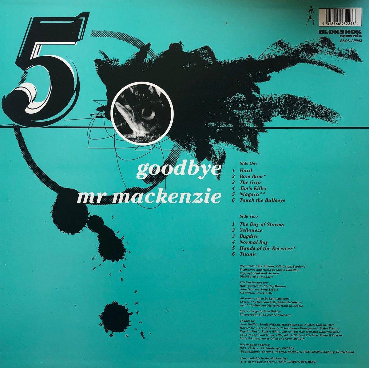 Image of FIVE (Vinyl album) - Goodbye Mr Mackenzie