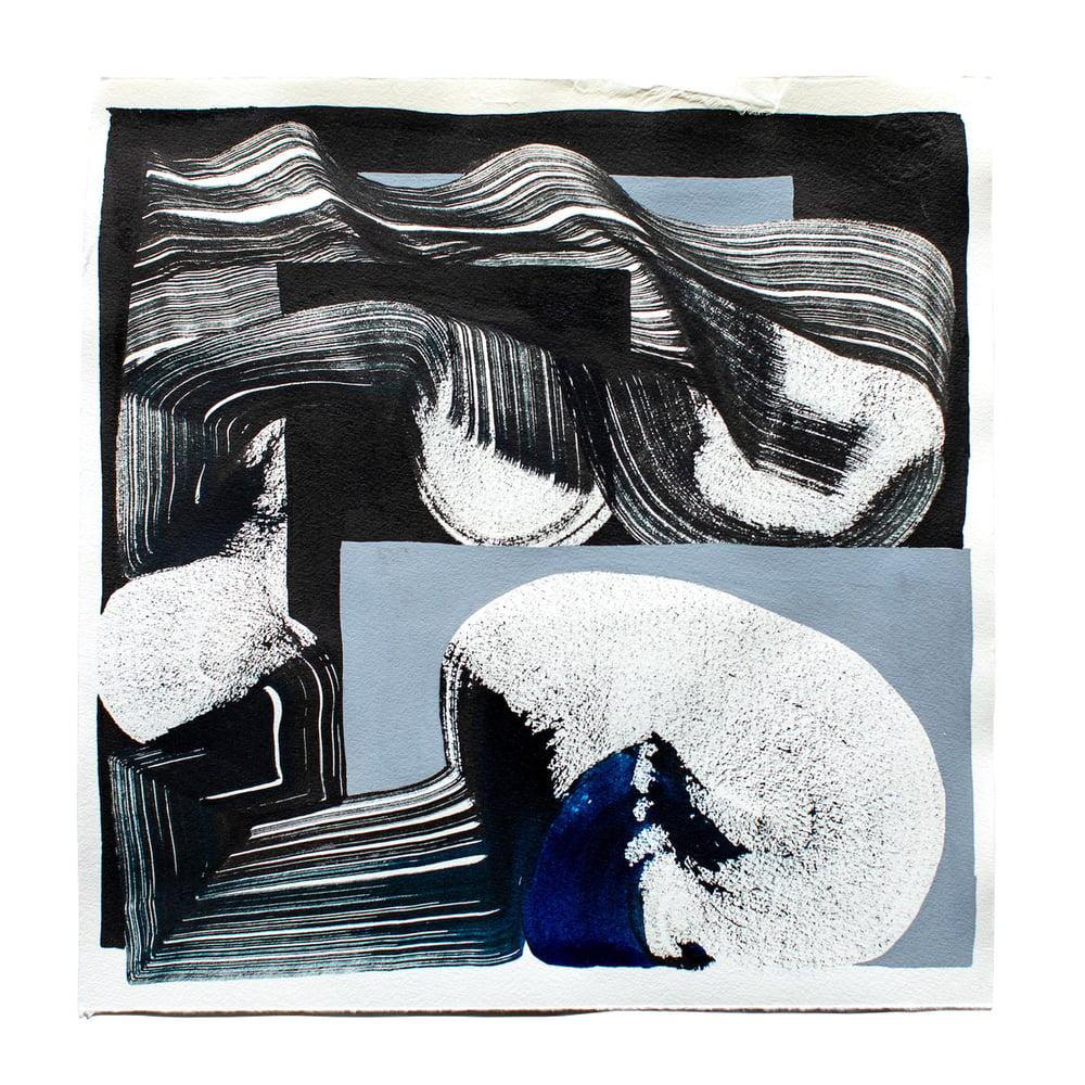 Image of One Stroke on Grey and Black Background  / Vincent de Boer