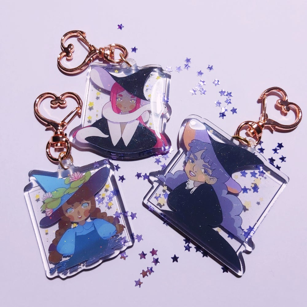 """Image of Witch Charms 2.5"""" Acrylic Charm"""