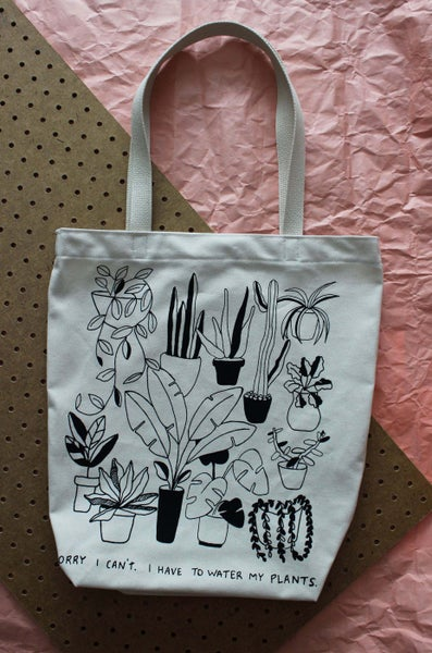 Image of Water My Plants Tote