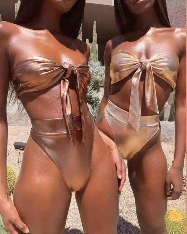 Image of Bronze Swimsuit