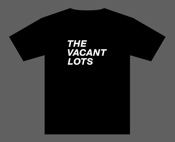 Image of VACANT LOTS // TEXT LOGO SHIRT