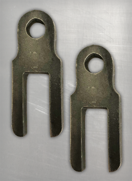 """Image of [DBF] 1/2"""" Sissy Bar Mounting Tabs"""