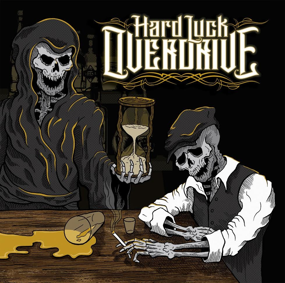 """Image of Hard Luck Overdrive """"Self Titled"""" CD"""
