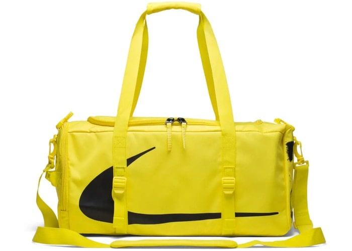 a juego en color super servicio gran variedad de estilos OFF-WHITE x Nike Duffle/Waist Bag Combo Opti Yellow   HypebeastKC