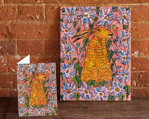 Image of Hare Card
