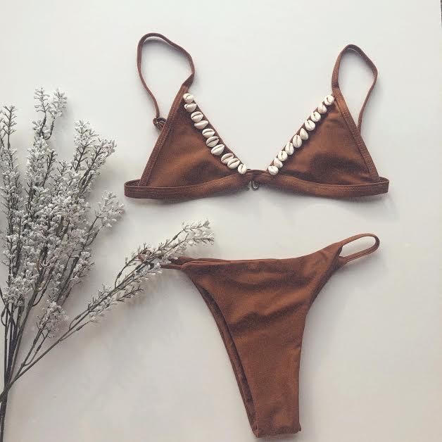 Limited Handmade Shell Bikini