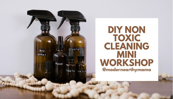 Image of DIY Non Toxic Cleaning Products Mini Workshop, Feburary 27th, 6-8pm