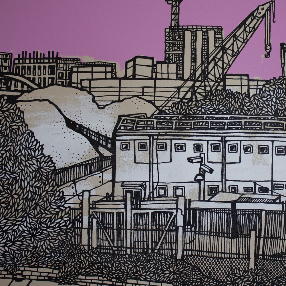 Image of Olympic Park, Pink