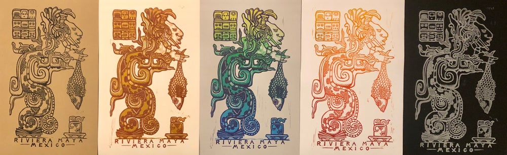 Image of Riviera Maya 2020 prints