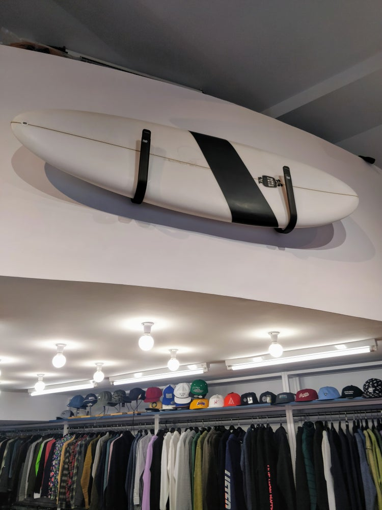 Image of RACKS COLGADORES TABLAS SURF PARED NORTHCORE