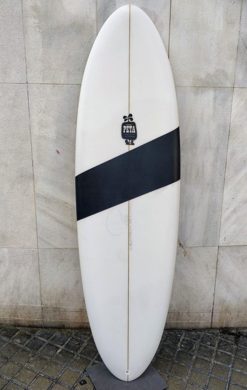 TABLA SURF PETA SURFBOARDS MODELO HUEVO EN PROMOCION