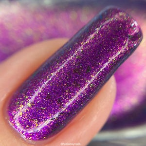 Image of Warui - purple shimmer with purple, pink and gold aurora shimmer and ultra chrome chameleon flake