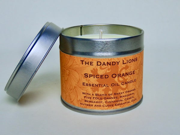 Image of Spiced Orange Essential Oil Candle