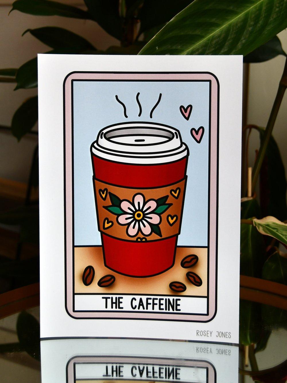 Image of Print Tarot (caffeine)