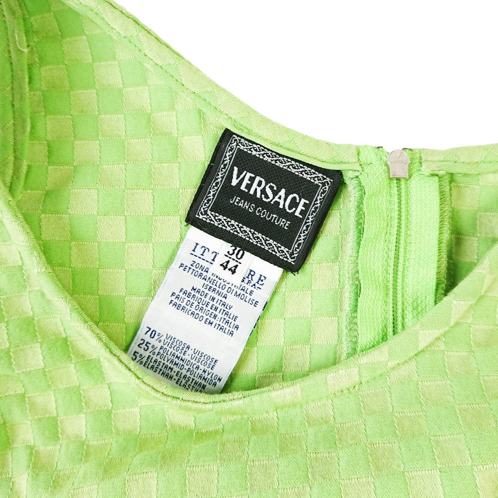 Image of Versace Jeans Couture Bodycon Dress