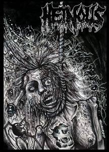 """Image of Heinous """"Gore from the Gutter"""" Tape"""