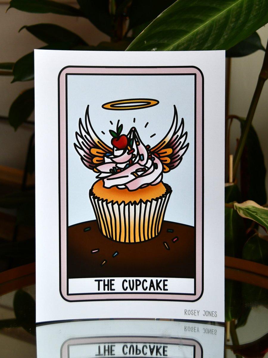 Image of Print Tarot (cupcake)