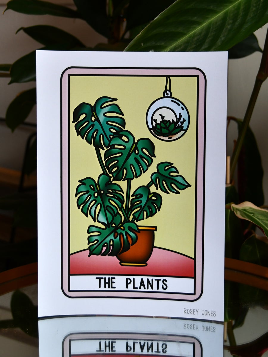 Image of Print Tarot (plants)