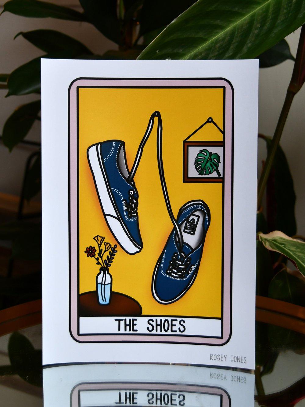 Image of Print Tarot (shoes)